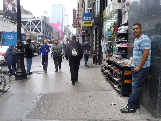 On Eighth Ave