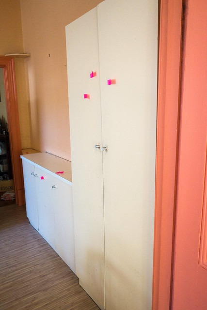 Pantry cupboard - before