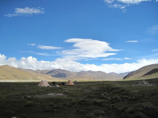 Everest Valley campsite
