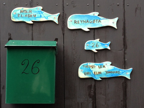 Faroe Islands - Thorshavn house number