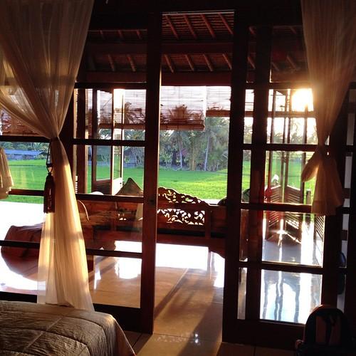 In the villa #ubud