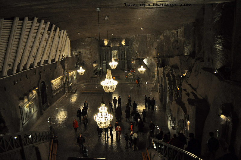 WIELICZKA - Kopalnia soli Wieliczka - Kaplica św. Kingi