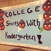 Love this! College starts with kindergarten #harlem