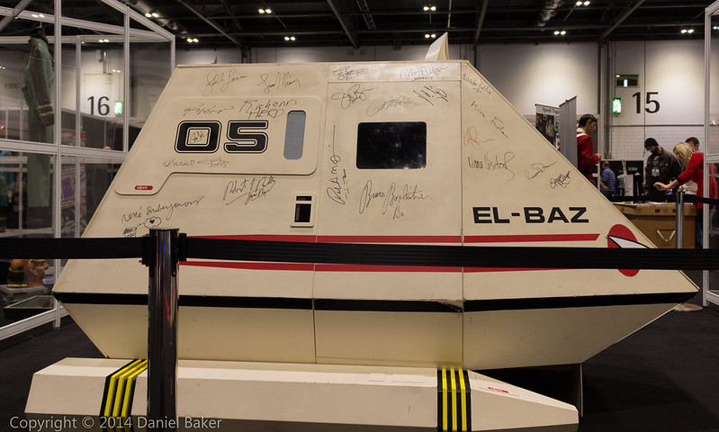 Signed Shuttlecraft at Destination Star Trek 3