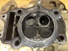 1995 Suzuki DR 350 valves