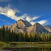 Mount Gould, Angel Wing from the Shoreline of Lake Josephine (HDR) by thor_mark 