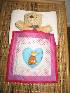 Little quilt for teddy
