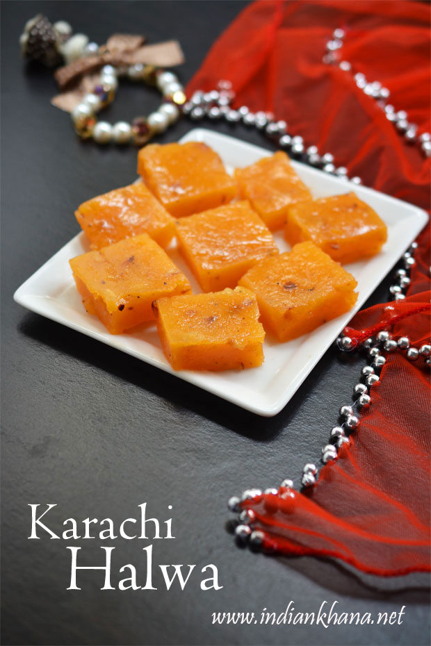Karachi-Cornflour-Halwa