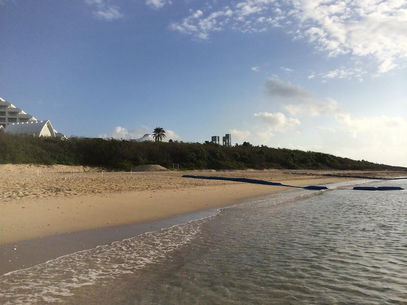 早起きビーチ