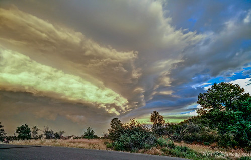 arizona orange storm green fall yellow landscape fineart bluesky shelf marlowe storms prescott violent opo oneplusone shelfcloud alanrmarlowe