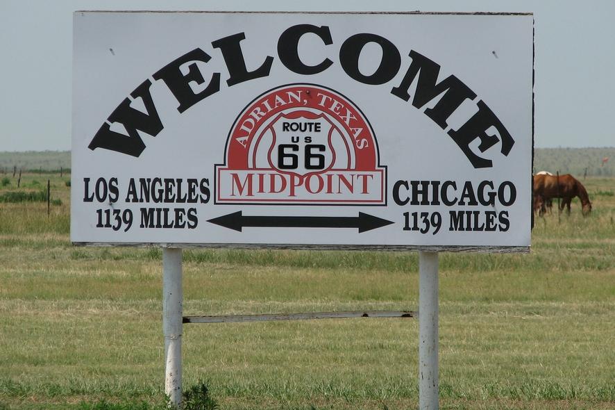 Texas - Midpoint a Adrian