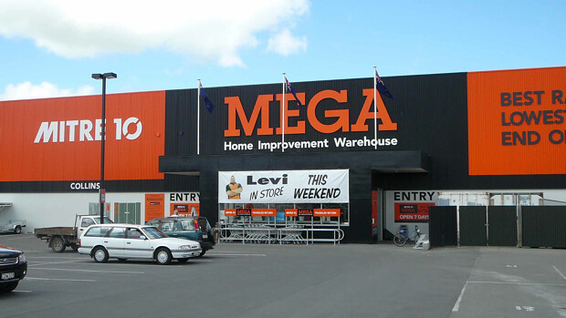 Mitre10 MEGA in New Zealand was involved in a transportable home project