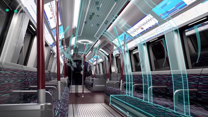 The New Amazing Driverless Tube Train Is Coming To London On 2020 (2)