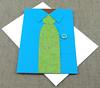 Shirt and Tie Card (Overhemd en Stropdas Kaart)