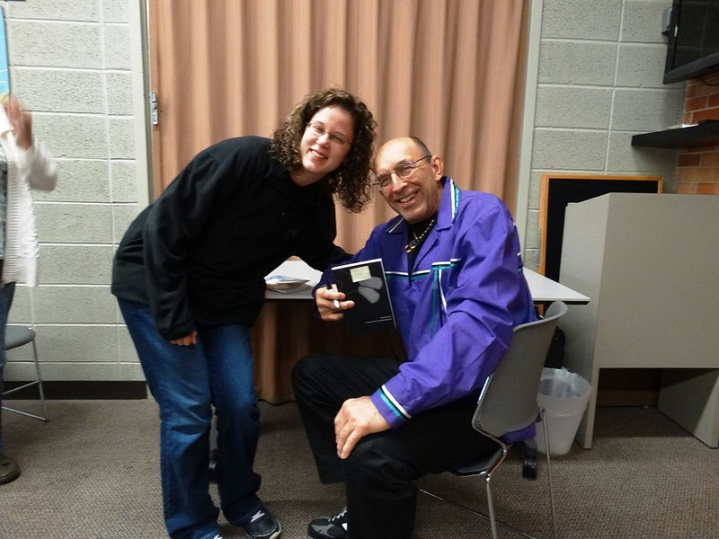 Joseph Bruchac visits