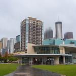 Downtown Atlanta feelin' stormy