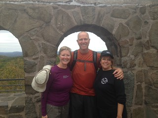 Happy hikers who made atop Sleeping Giant