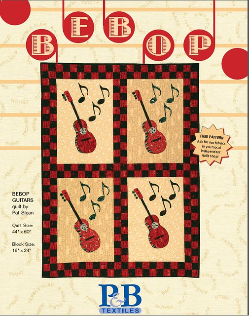pat sloan be bop guitar pattern