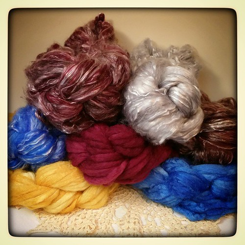 Handspinners! These beauties will be in the shop tomorrow - can you stand the wait? #spinningfiber #handdyedroving