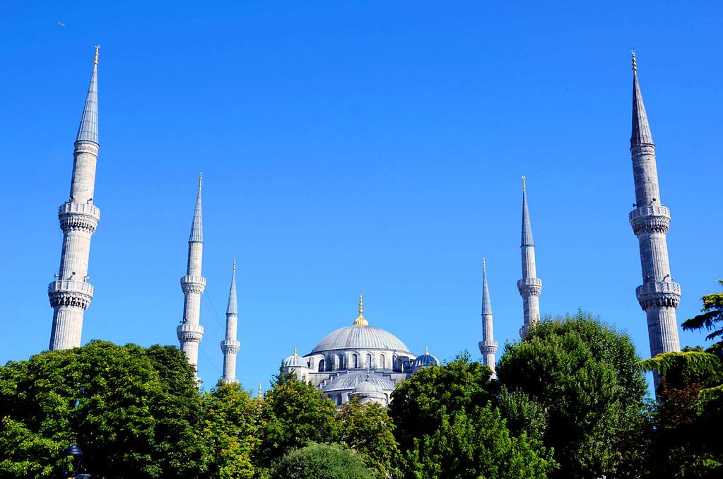 Sultan Ahmet Camii, İstanbul, Türkiye (Mesquita Sultan Ahmet - Mesquita Azul, Istambul - Turquia)