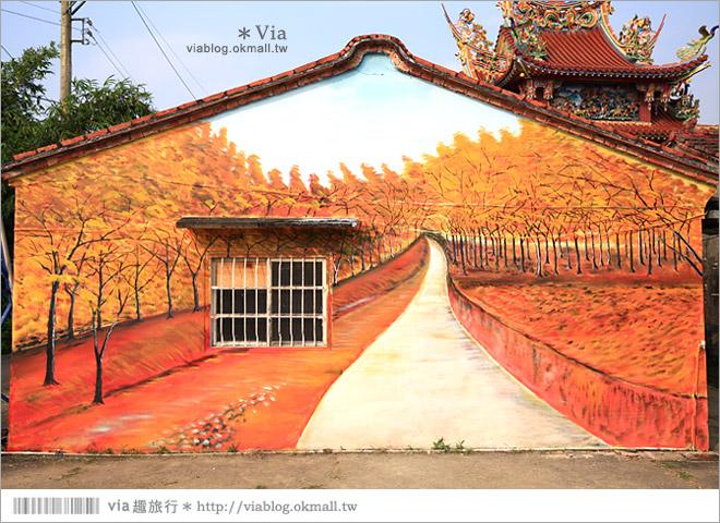 【關廟彩繪村】新光里彩繪村~在北寮老街裡散步‧遇見全台最藝術風味的彩繪村6