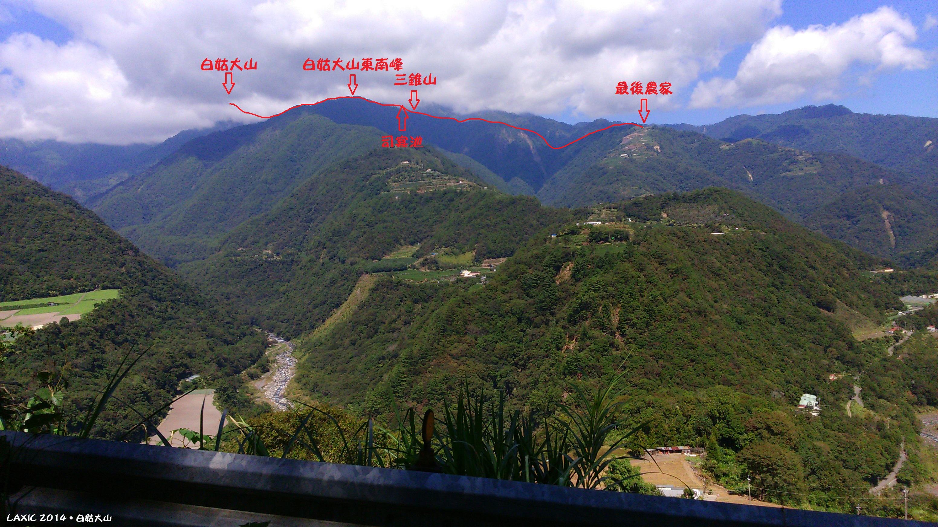 2014.10 白姑大山
