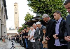 Sarajevo, begova dzamija, Bajram2012