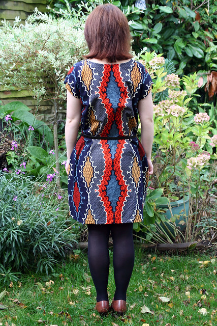 Waxprint Maya Dress