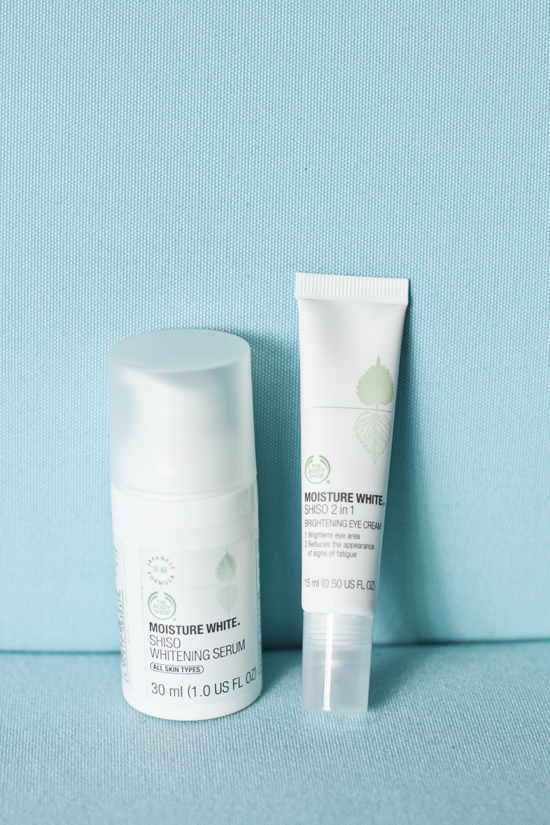 The Body Shop Moisture White Series