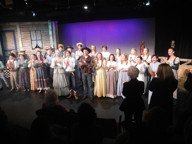 Clarkies singing Oklahoma