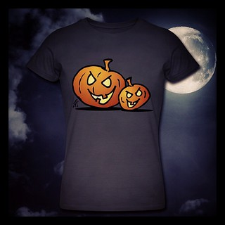 Halloween Jack O'Lantern T-Shirt. #Halloween  #Jackolantern  #October #Spreadshirt #dailydrawing  #dailysketch  #Tshirt  #Tshirtdesign  #Tekenaartje  #Cardvibes  #pumpkin