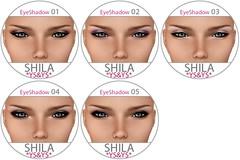 *YS&YS* - Shila Eyeshadow Chart
