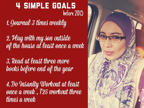 4 Simple Goals before 2015