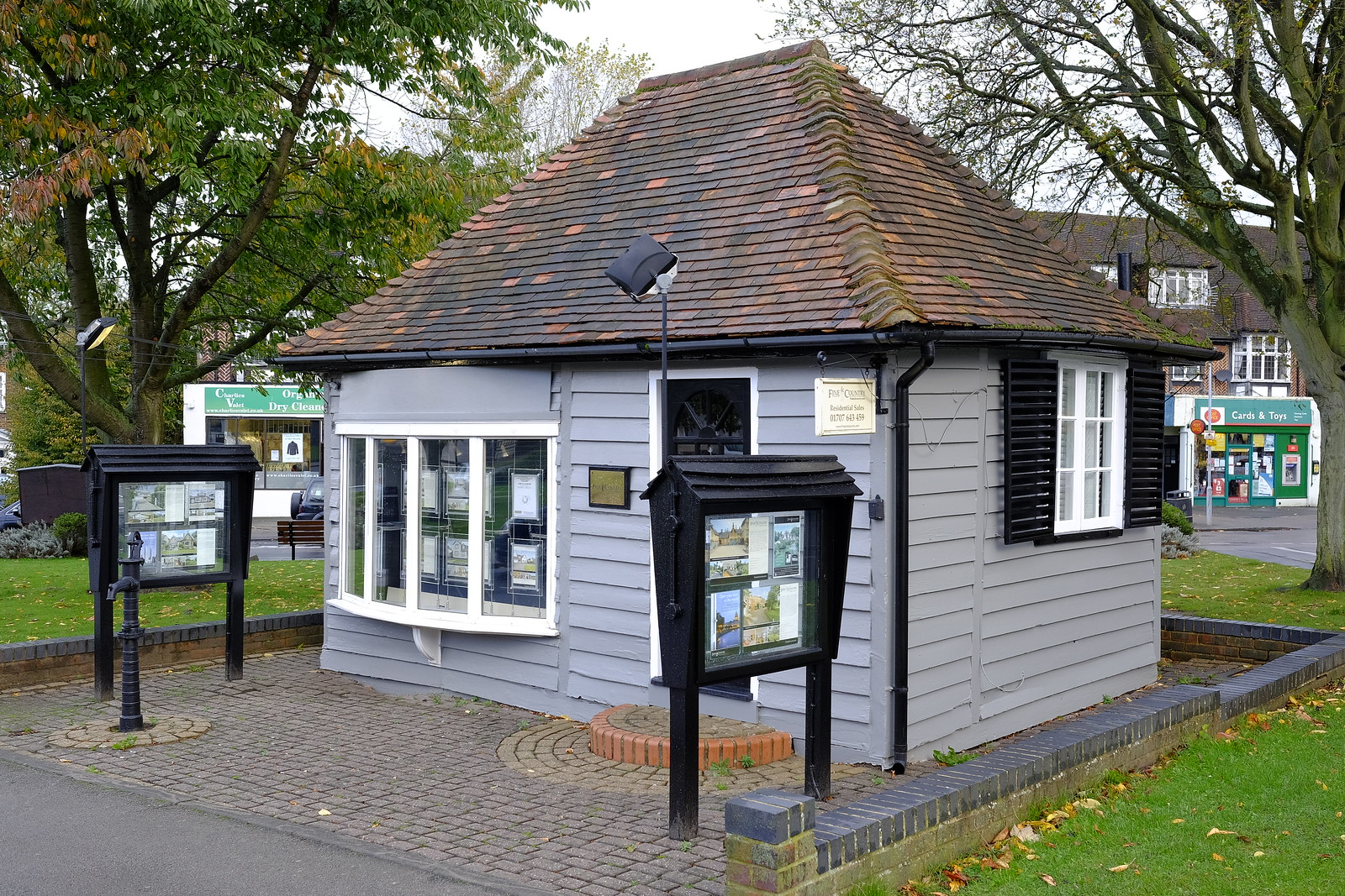 The smallest estate agents... ever?