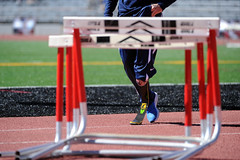 athletics, track and field athletics, 110 metres hurdles, obstacle race, sports, hurdle, player, person, hurdling, athlete,