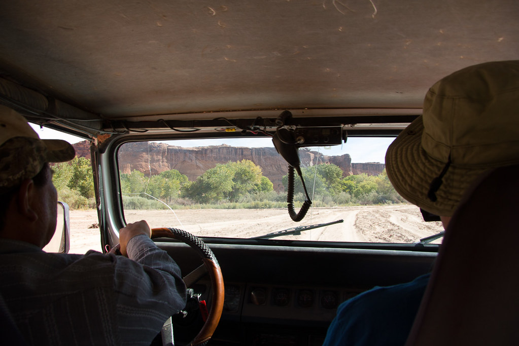 Our jeep ride at Canyon de Chelly