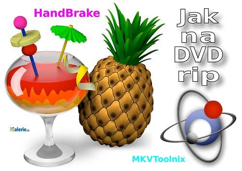 HandBrake&spol.: Jak převést DVD do MKV?