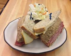 sandwich, meal, lunch, breakfast, baked goods, meat, pã¢tã©, food, dish, cuisine,