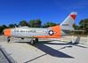 Korean War era North American F-86L Monroe New York.