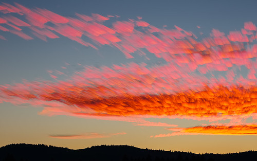 sunset pacificnorthwest sky clouds colorful landscape motion canoneos5dmarkiii canonef100400mmf4556lisusm nature scenic issaquah timestack washington johnwestrock