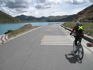 Kambala Pass to Yamzo Yumco (Scorpion) lake ride