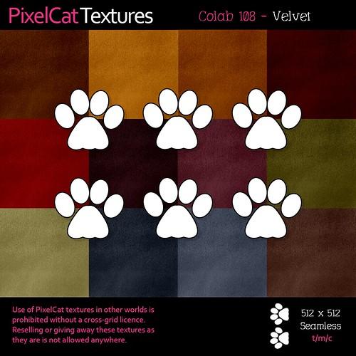 PixelCat Textures - Colab 108 - Velvet