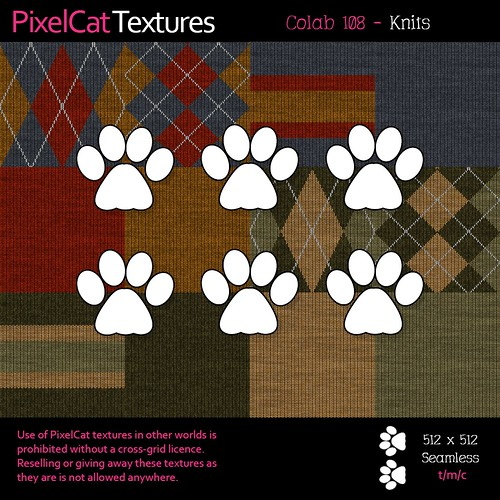 PixelCat Textures - Colab 108 - Knits