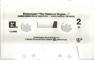 "Powermad ""The Madness Begins"" EP (1988)(Cassette Side 2)"
