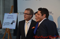 Music producer Jeff Koz, Audrey's Cookies Founder & CEO Roberta Koz Wilson, and Coalition Media Group CEO Dave Koz at the 2014 Starlight Awards #starlightonline DSC_0003
