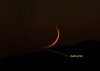Fine occultazione Saturno