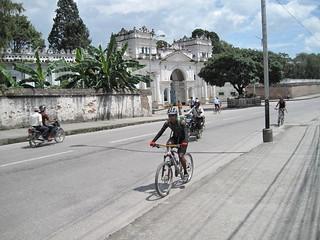 Kathmandu city cyclist