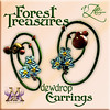 AZE Forest Treasures Dewdrop Earrings MRF Exclusive