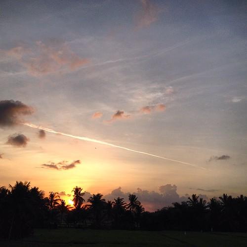 Bali sunset #ubud