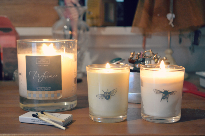 winter candles beefayre and arran aromatics